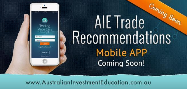 Trade Recommendations Service iPhone Application