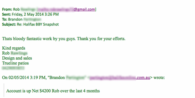 Rob Email